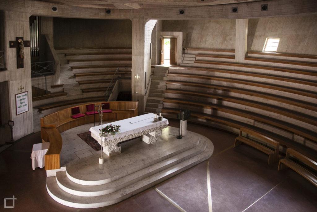 Chiesa Longarone Giovanni Michelucci