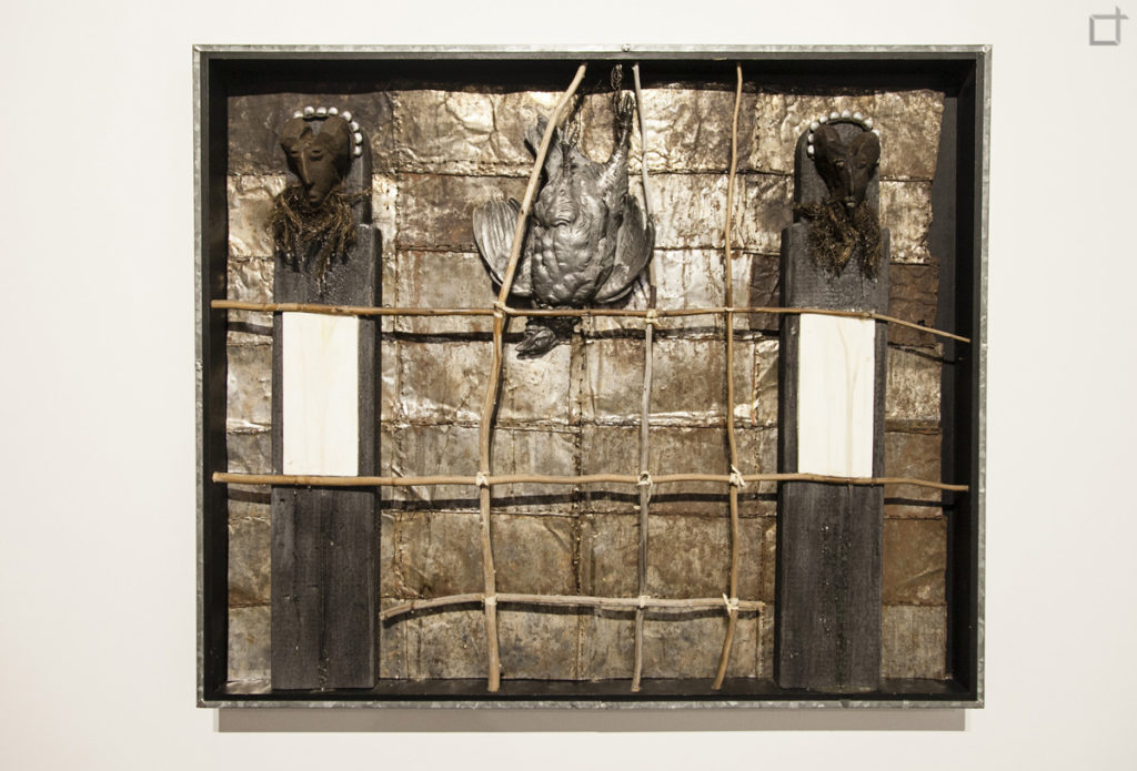 Corvo in Quadro - Installazione Artistica - Kienholz
