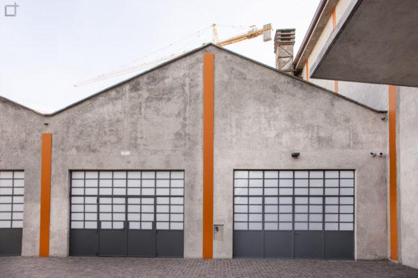 Deposito e Galleria Sud Fondazione Prada Milano