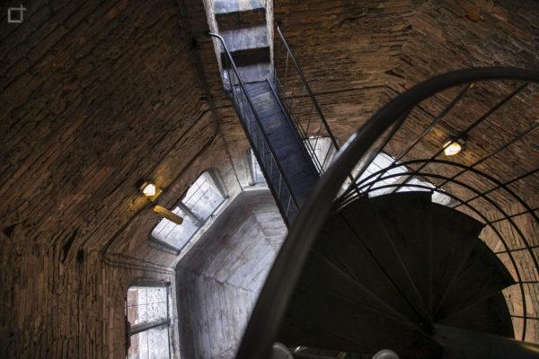 Discesa nel campanile