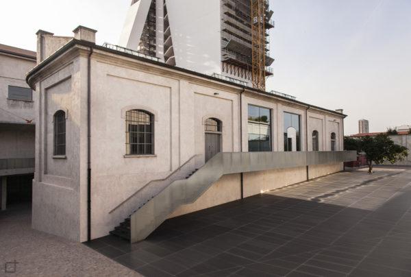 Fondazione Prada Palazzo Cisterne e Torre in Costruzione