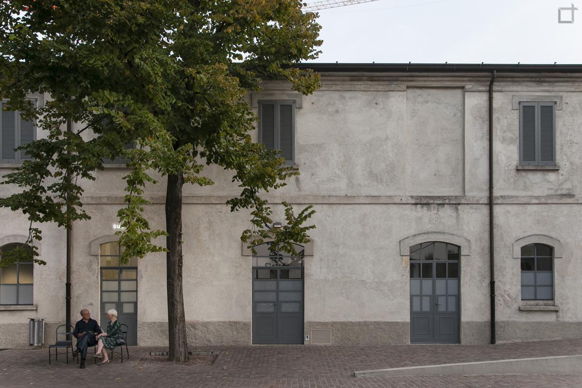 Galleria Sud Facciata di Fondazione Prada Milano
