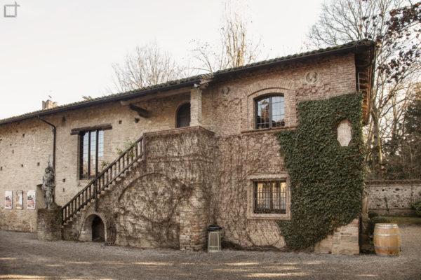 Grazzano Visconti Scalinata e Casa