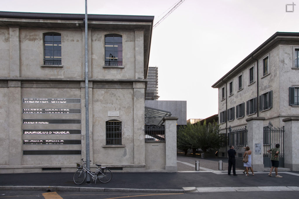 Ingresso Fondazione Prada Milano