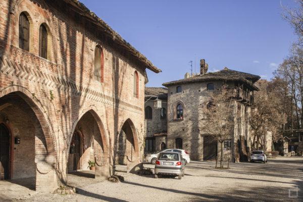 Ingresso città con Archi e Portici