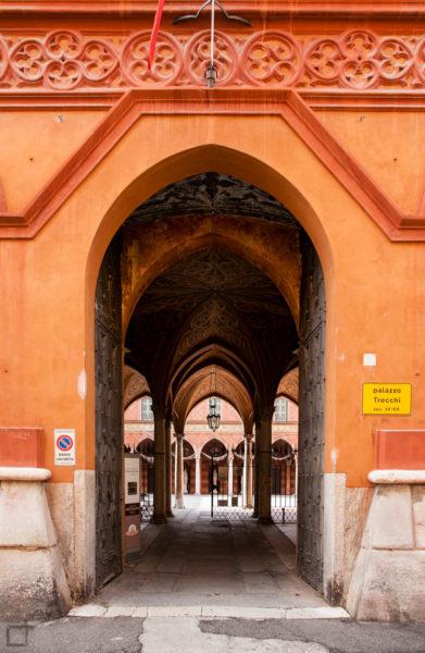 Palazzo Trecchi Ingresso