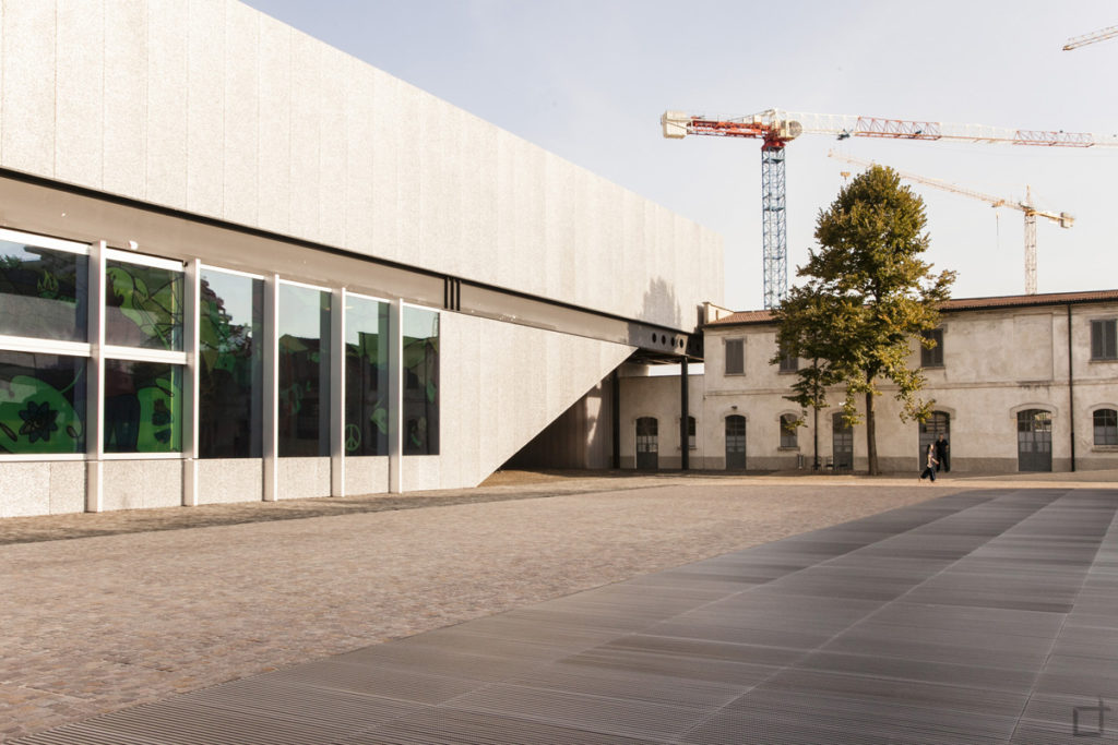 Podium e Galleria Sud