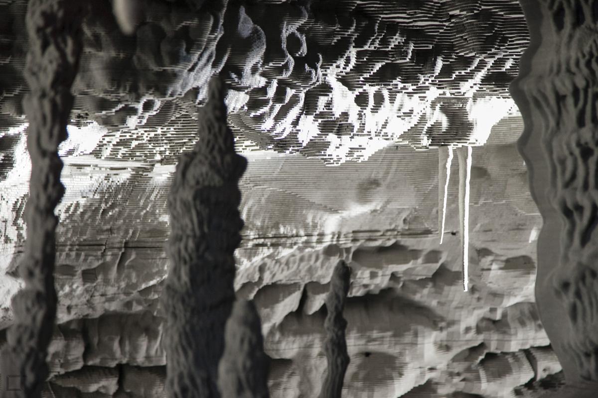 Ricostruzione Grotta in Cartone