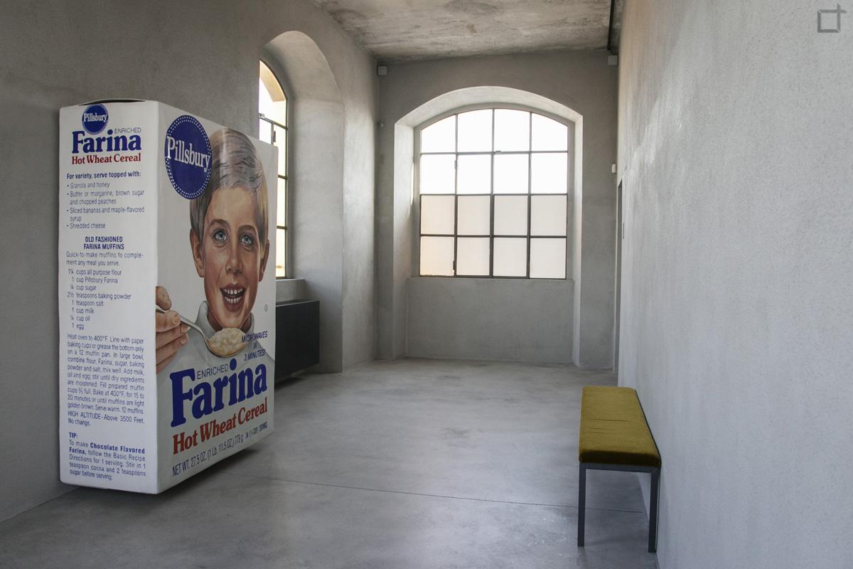 Robert Gober - Confezione Cereali Farina
