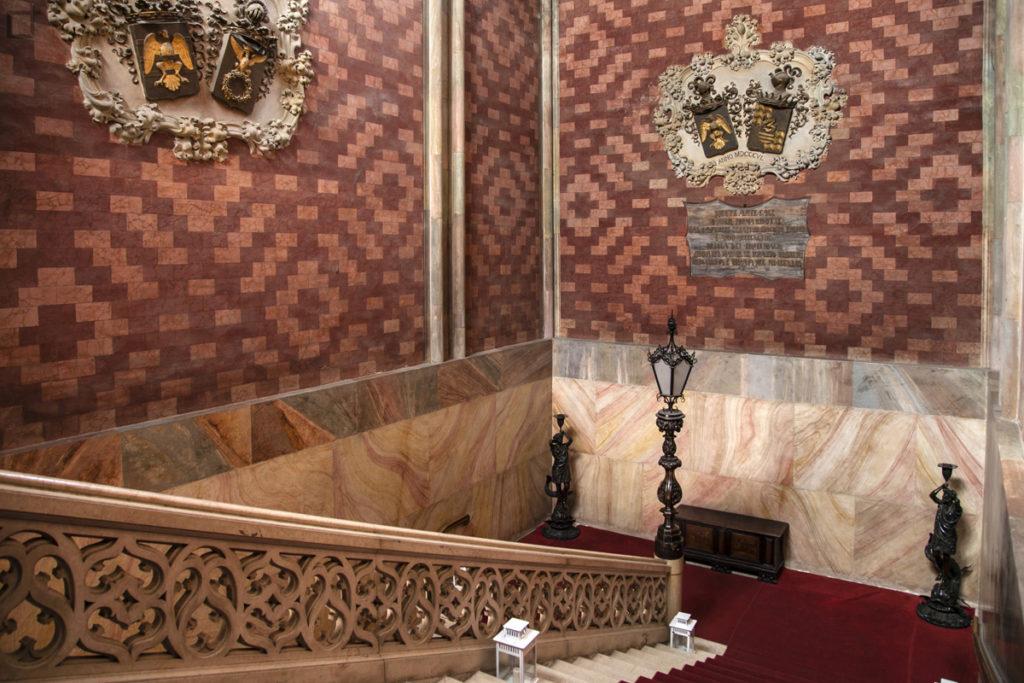 Scalinata interna Centro Convegni Palazzo Trecchi