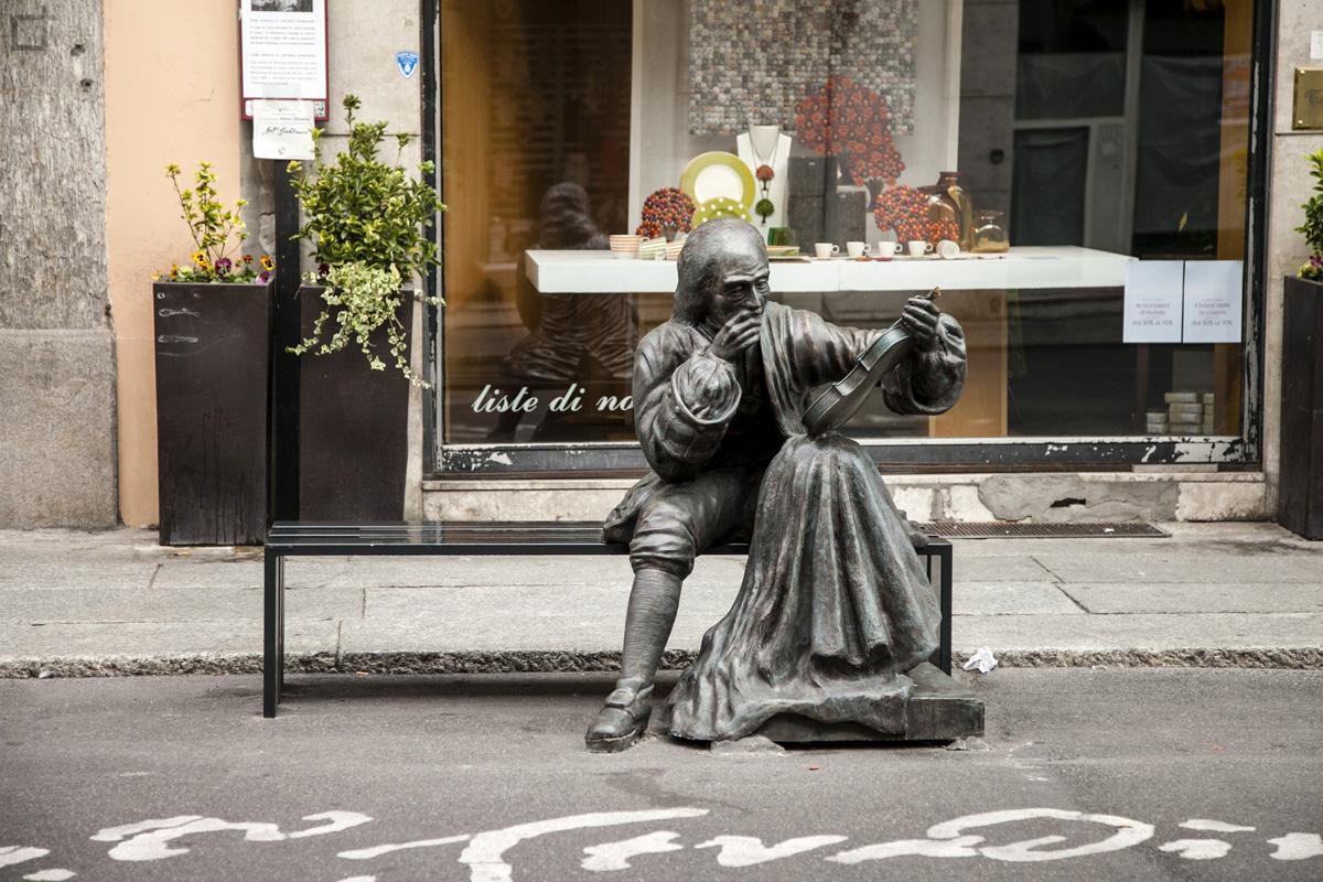 Statua Stradivari Cremona