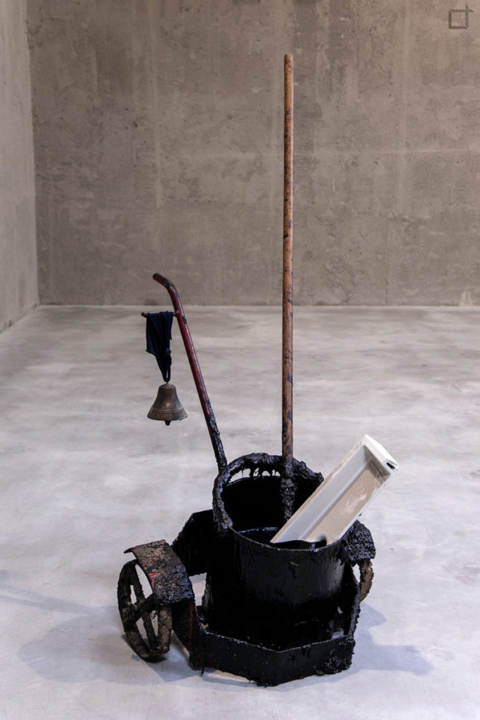 Tar Mop and Bucket - Theaster Gates