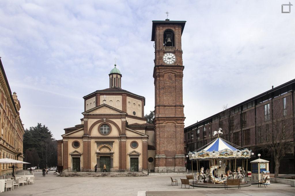 Basilica San Magno su Piazza San Magno a Legnano