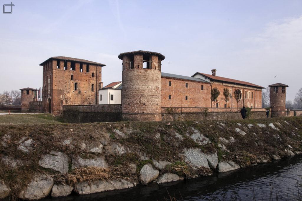 Castello Visconteo e Fiume Olona a Legnano
