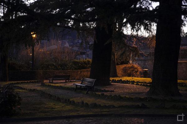 Giardini Giovanni Paolo II Di Sera