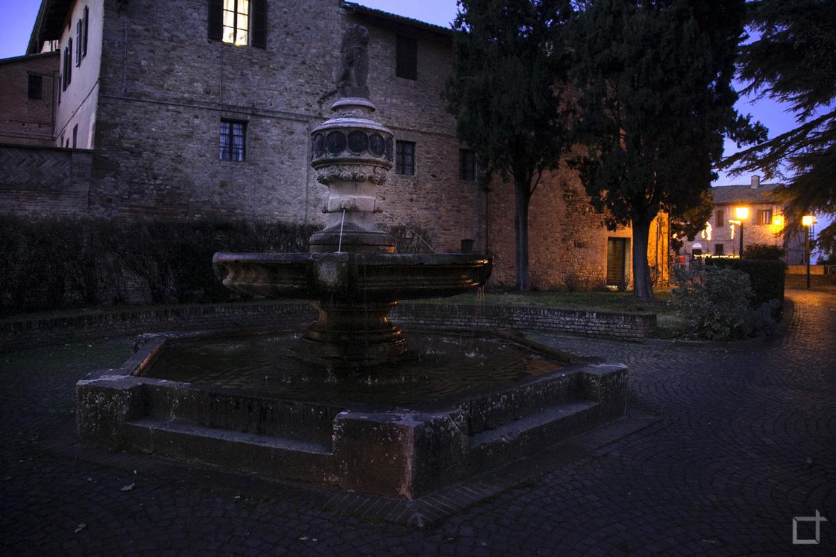 Giardini Giovanni Paolo II - Fontana Esagonale di Manfredo Manfredi