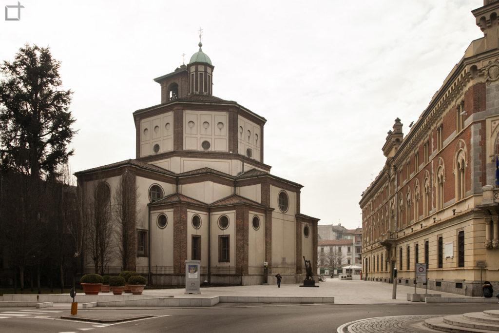 Legnano Basilica di San Magno - Retro