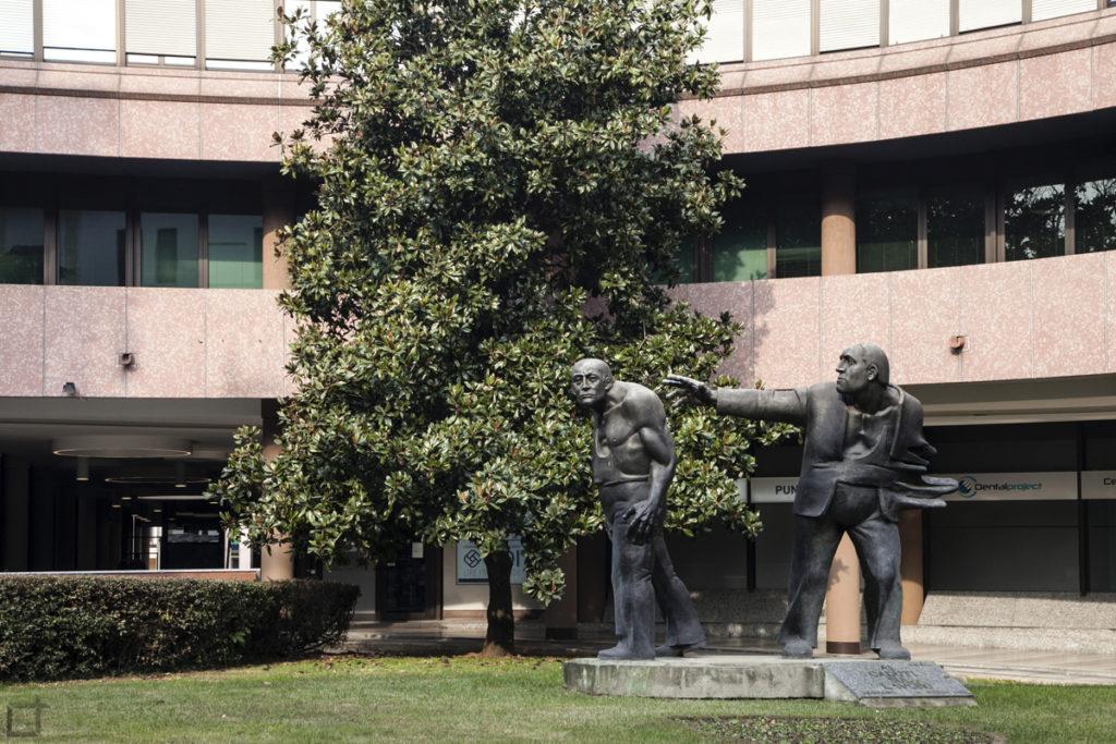Legnano Statua Boteriana Uomini - Ai caduti sul lavoro