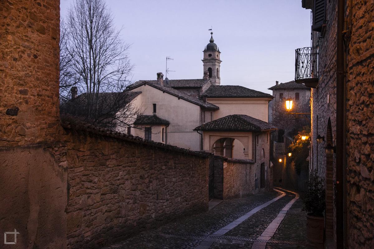 Passeggio per Castell'Arquato
