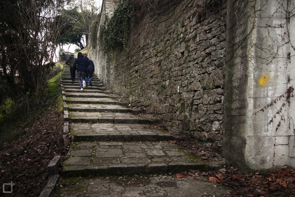Scale Ingresso Borgo