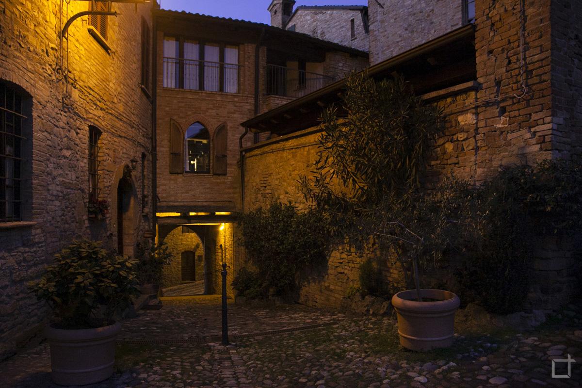 Scorcio Borgo Medievale Castell'Arquato