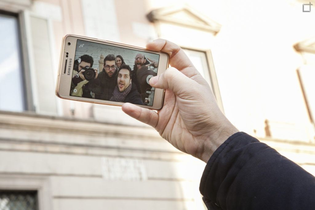 Selfie a Piacenza