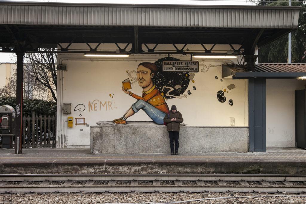 Stazione ferroviaria di Legnano e Murales