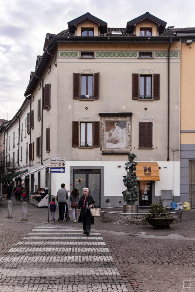 Affresco Medievale in Piazzale Padre Barzaghi