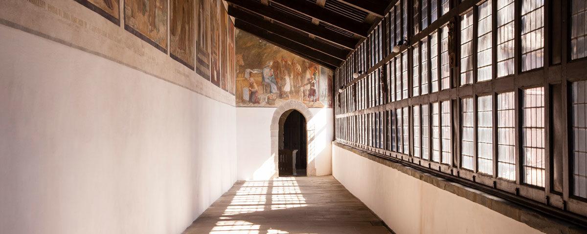 Corridoio Santuario La Verna