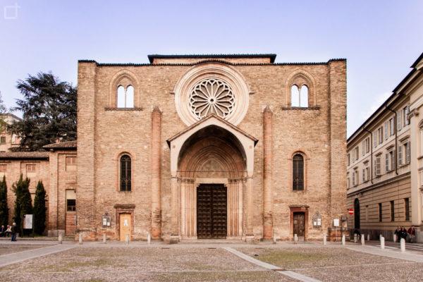 Lodi Facciata Chiesa di San Francesco