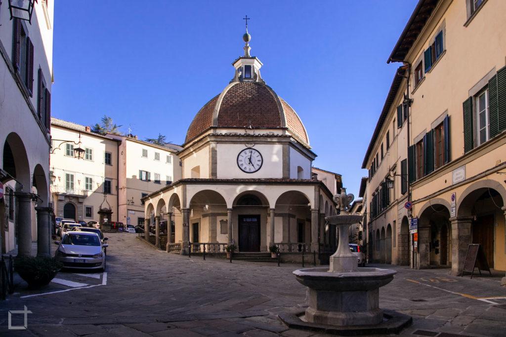 Poppi Oratorio della Madonna del Morbo - Centro Storico