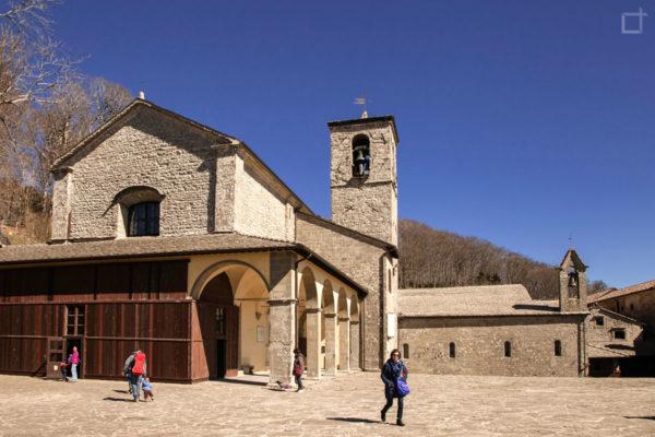 Santuario La Verna - Cortile