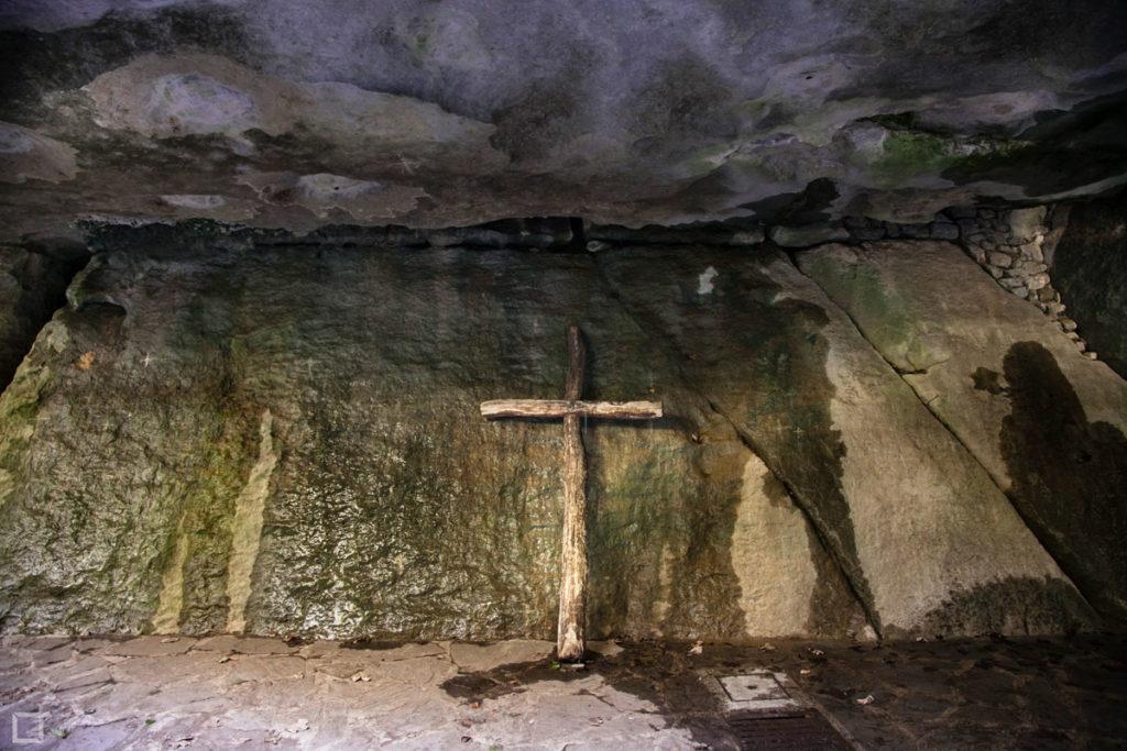 Sasso Spicco Santuario la Verna - Crocifisso
