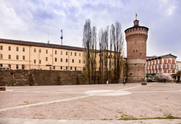 Questura e Torrione del Castello di Lodi