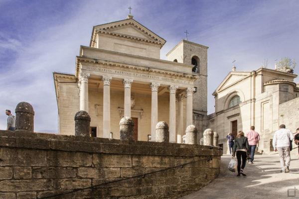Basilica di San Marino e Chiesetta di San Pietro