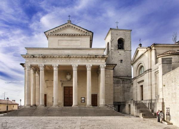 Basilica di San Marino a San Marino Basilica di San Marino e Chiesetta di San Pietro