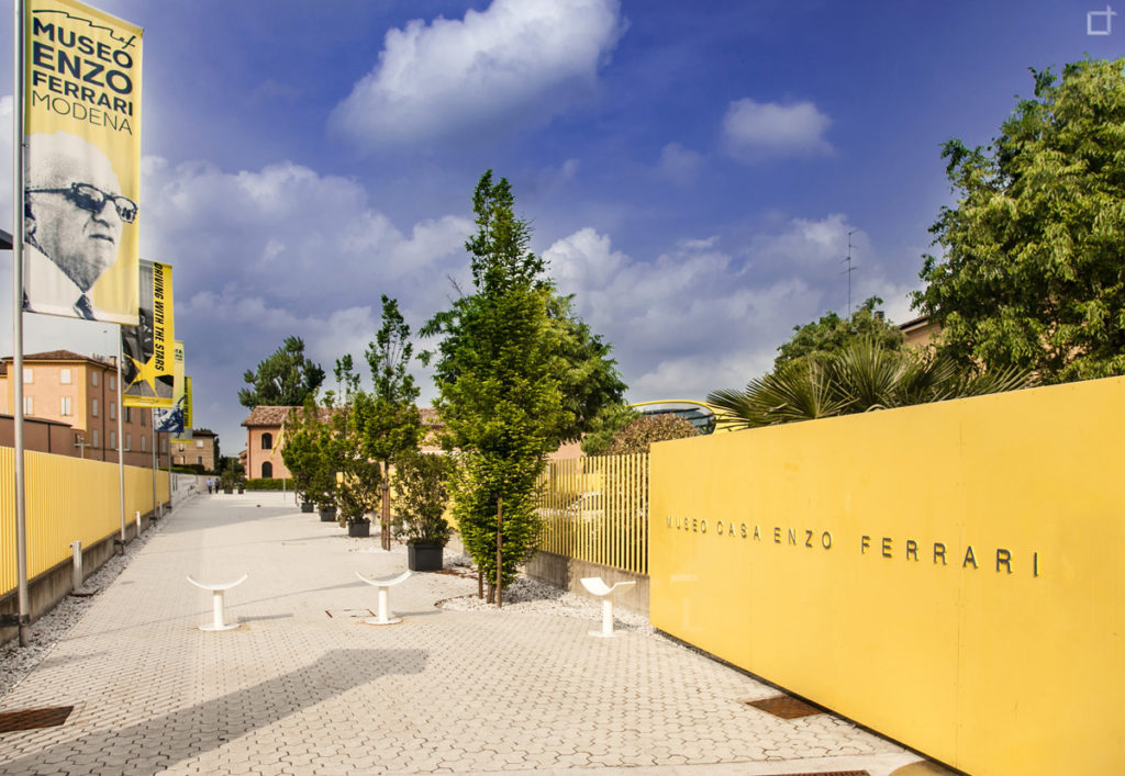 Casa Museo Enzo Ferrari Modena - Ingresso