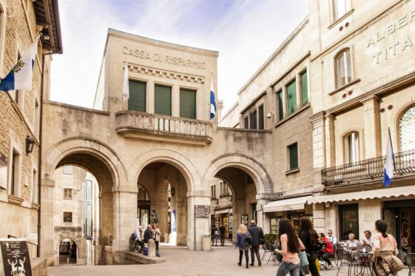 Cassa di Risparmio di San Marino e Albergo Titano