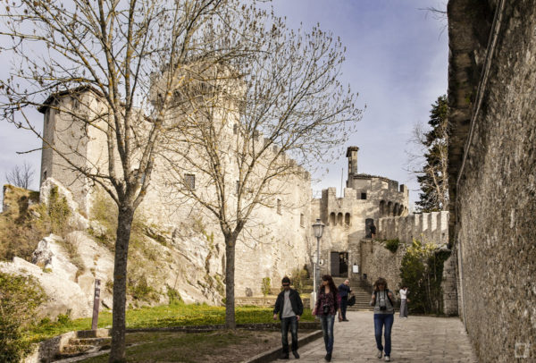 Castello - Ingresso alla Torre Cesta o Torre Fratta di San Marino