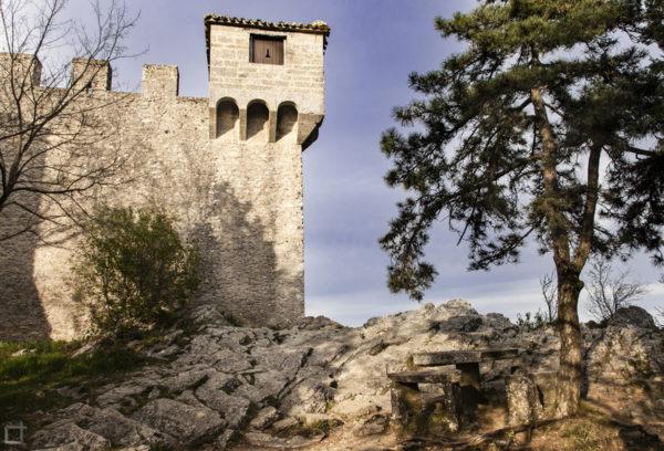 Castello di San Marino - Merletti - Particolare Torre Fratta