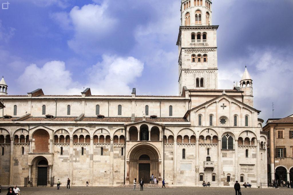 Duomo di Modena in Piazza Grande - Bene Protetto dall'UNESCO