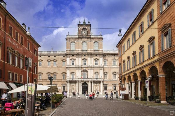 Palazzo Ducale di Modena in Piazza Roma