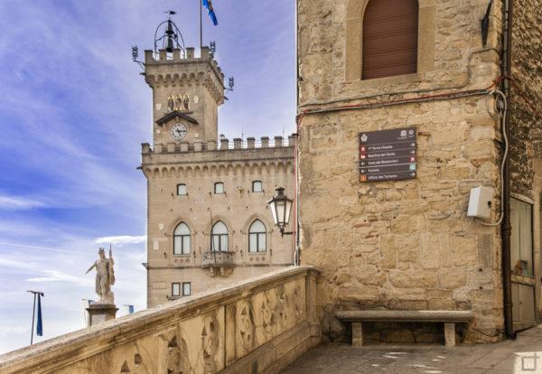 Palazzo Pubblico nel centro di San Marino