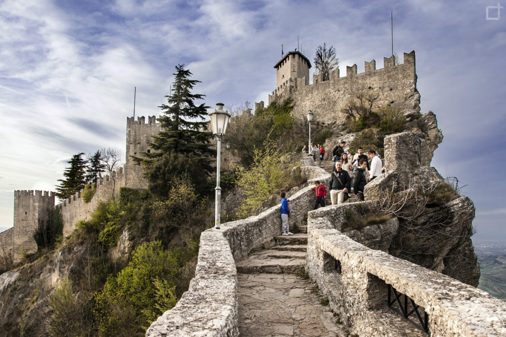 Passo delle Streghe a San Marino sotto il castello - Rocca Guaita
