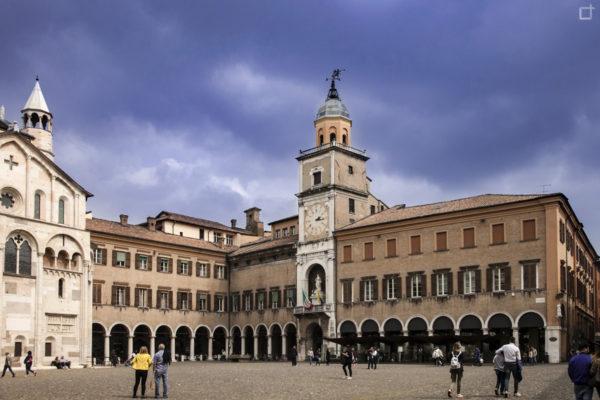 Piazza Grande Modena - Patrimonio UNESCO