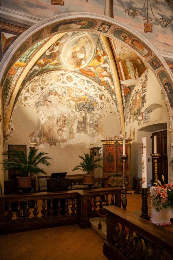 Cappella dell'eremo - Leggiuno Varese
