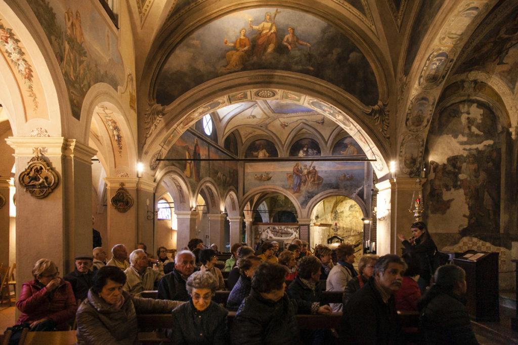 Chiesa e Affreschi all interno dell eremo