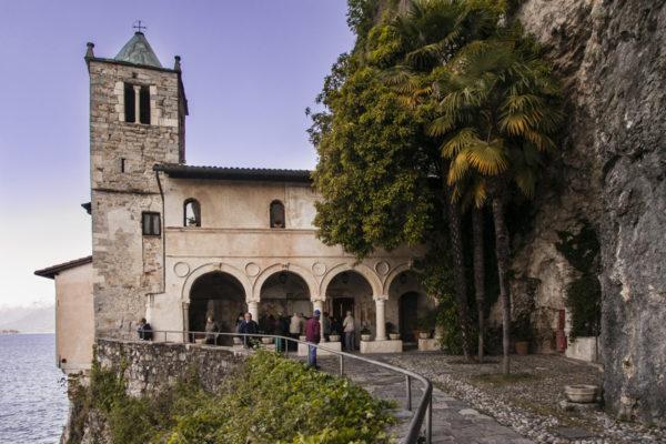 Chiesa e Campanile dell Eremo di Santa Caterina del Sasso
