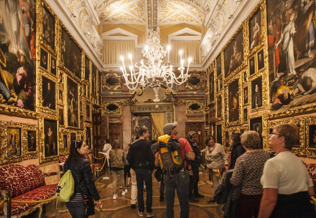 Galleria dei Quadri - Palazzo Borromeo - Sala dei Quadri