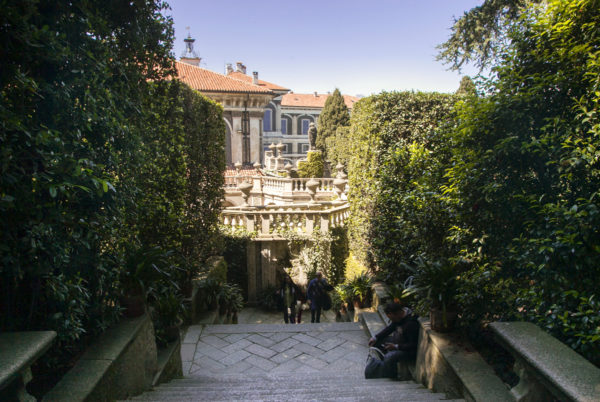 Palazzo Borromeo dai Giardini
